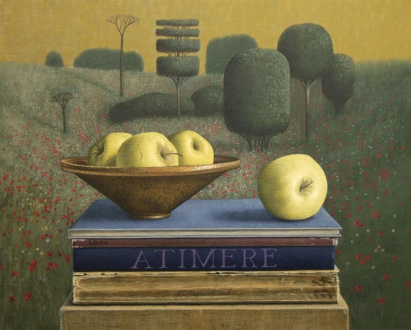 """[nl]Olieverf op linnen, 50 x 40 cm [en]Oil on canvas, 20"""" x 16"""""""