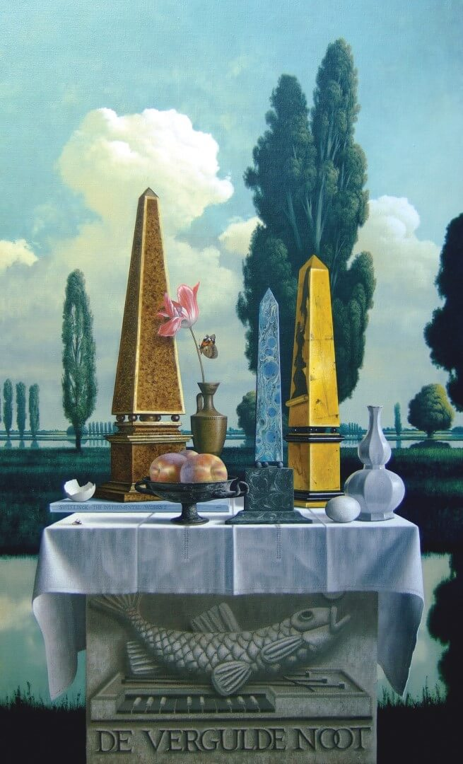 """[nl]Olieverf op linnen, 130 x 75 cm [en]Oil on canvas, 52"""" x 30"""""""