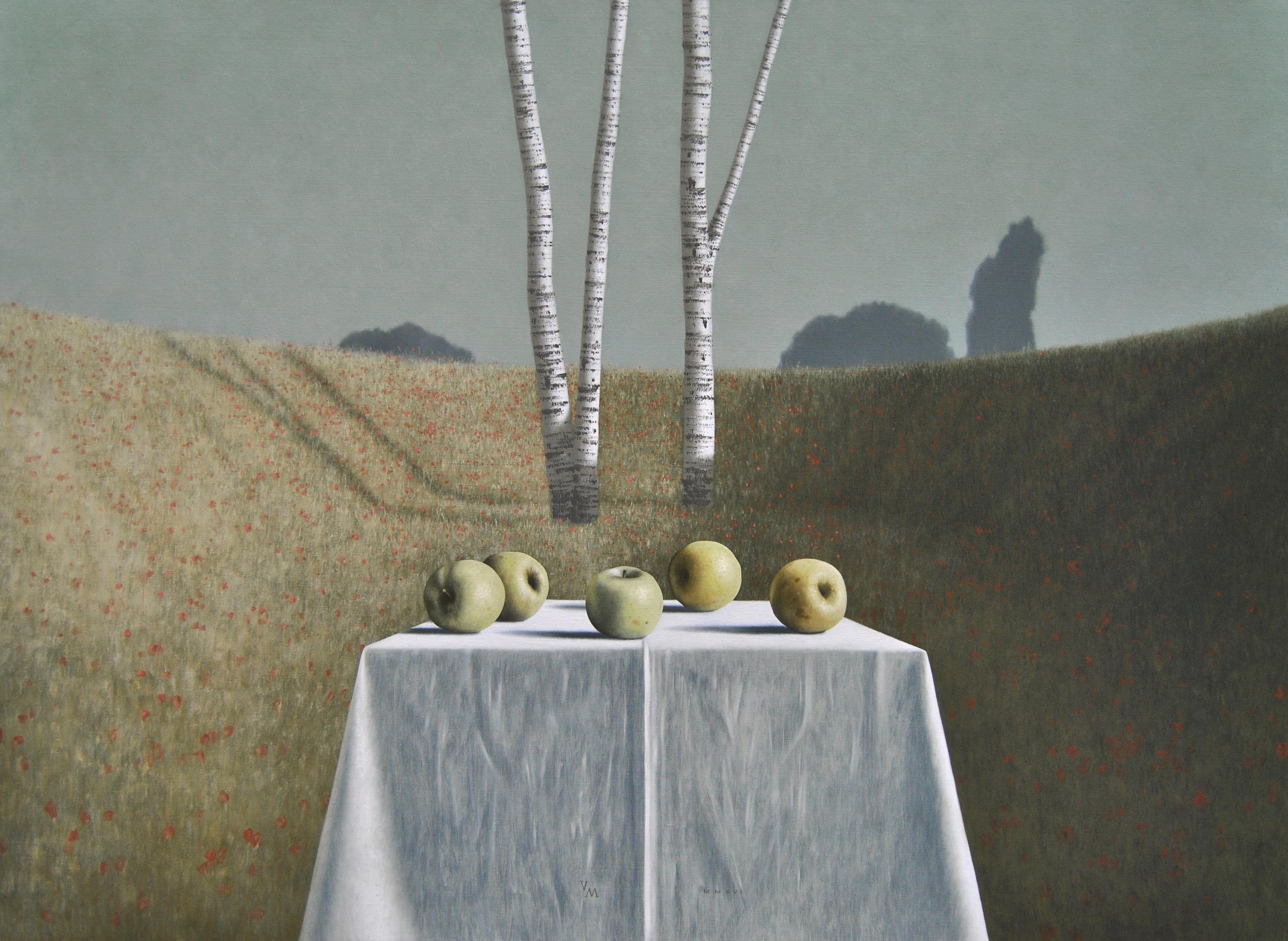 [nl]olieverf op linnen, 150 x 110 cm [en]oil on canvas, 150 x 110 cm